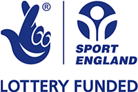 Lottery Funded Sport England logo
