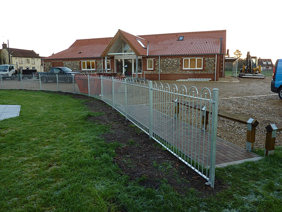 Children's play area fence 6