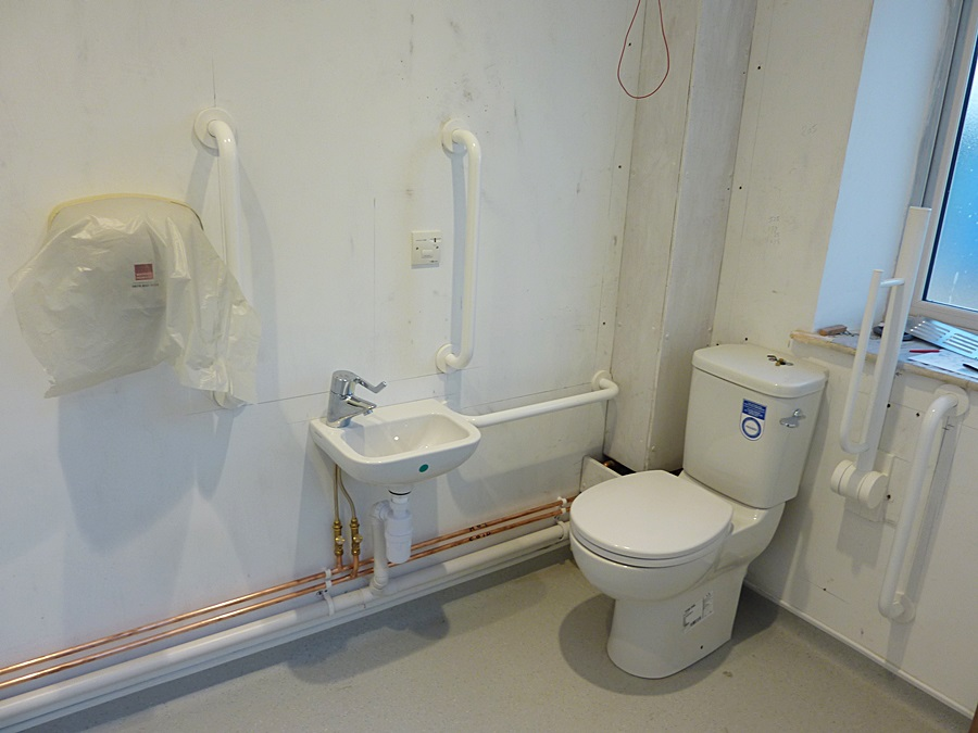 Disabled toilet fittings 1
