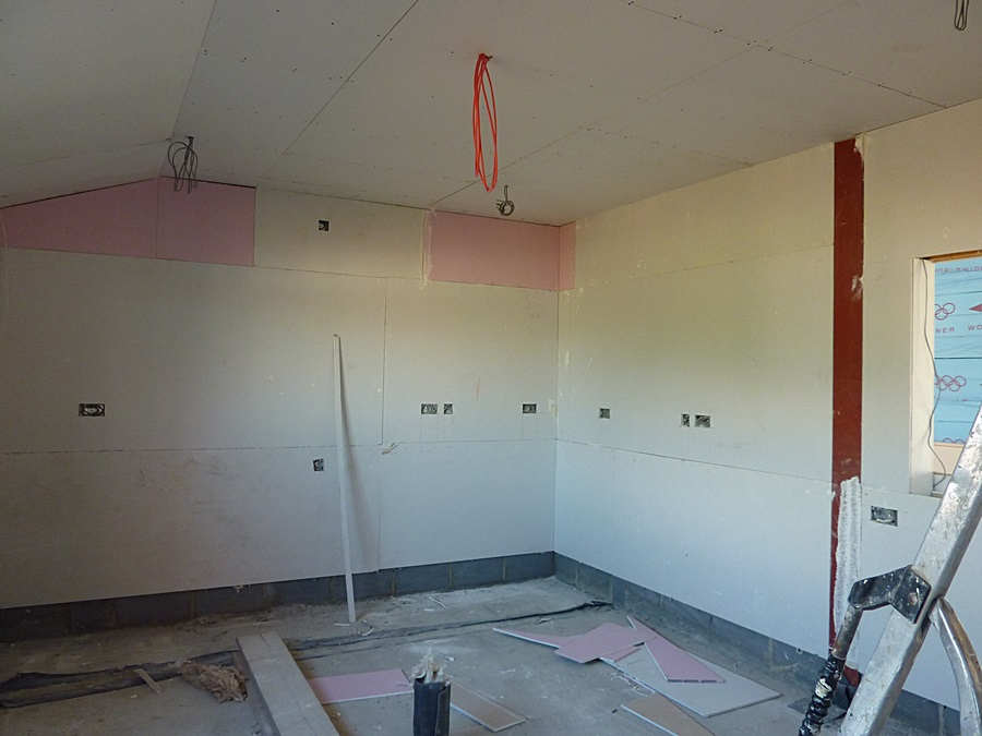 Kitchen plasterboard 2
