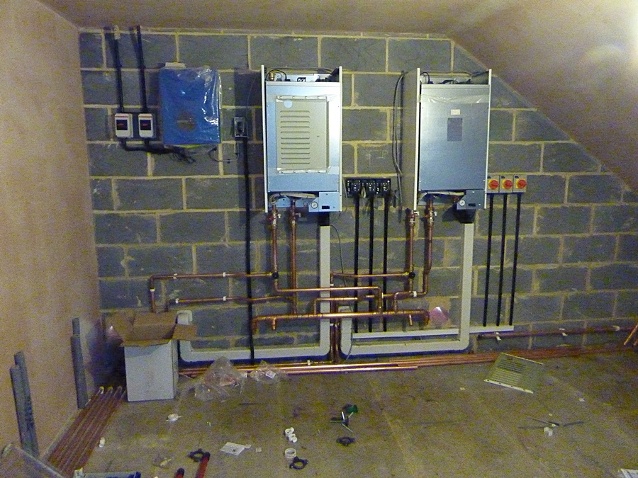 Underfloor heating system 3