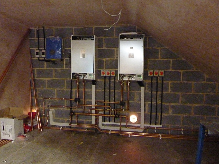 Underfloor heating system 4